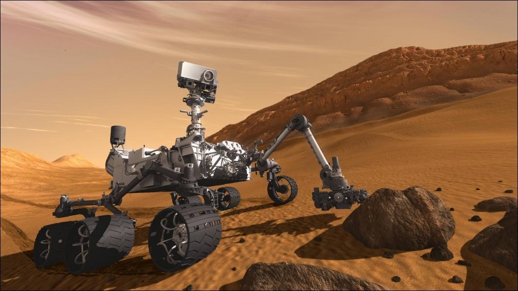 Comment s'appelle le robot qui s'est posé sur Mars, en août, pour une mission de deux ans ?