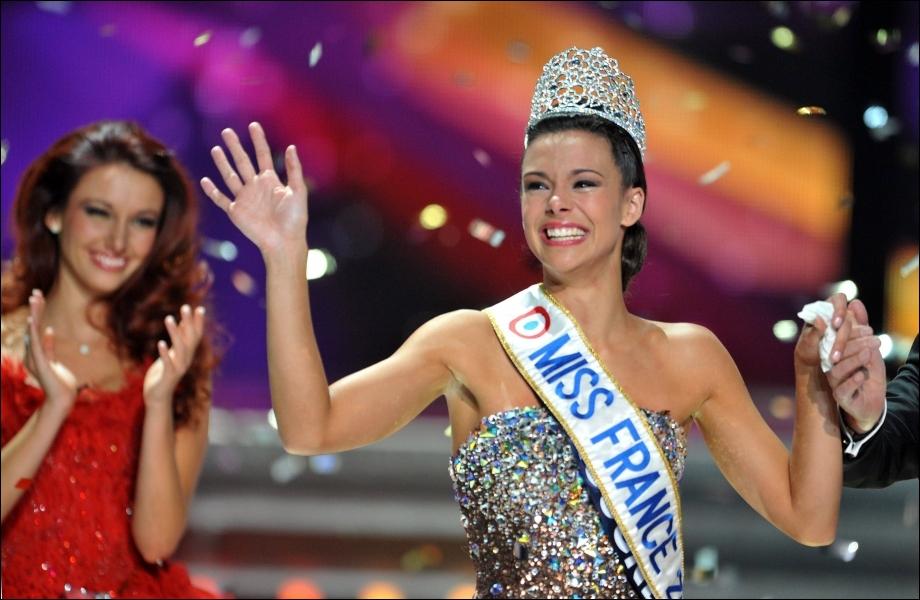 Quelle région représentait Marine Lorphelin, élue Miss France 2013 le 8 décembre ?