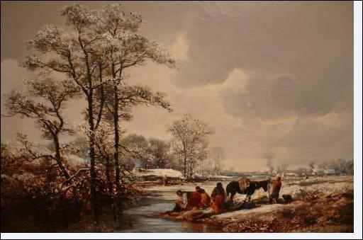 Cette oeuvre de Jules Noël date de 1858 . Comment l'a t'-il intitulée ?