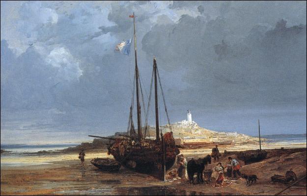 Cette toile de Jules NOEL date de 1858-1860 . Que représente t '-elle ?