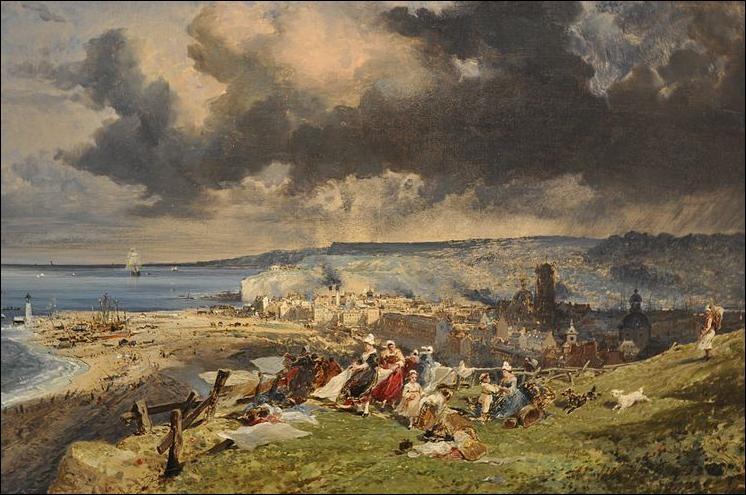 Que représente cette oeuvre de Jules Noël de 1865 ?