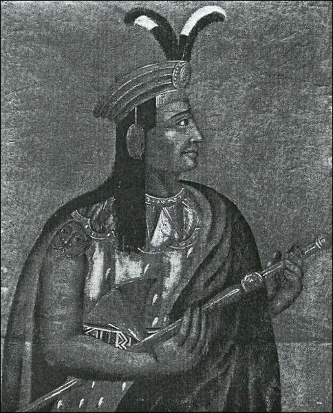 Classez les trois grandes civilisations amérindiennes qui ont combattu les Espagnols, du nord au sud du continent (cc : Atahualpa, dernier empereur inca)