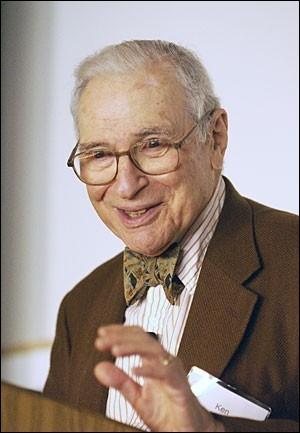 Qui fut/furent prix Nobel de sciences économiques en 1972 avec Kenneth Arrow (Monsieur Arrow sur la photo) ?