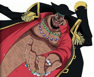 One Piece : équipage de Barbe Noire