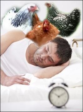Se mettre au lit de très bonne heure... .