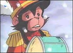 Je suppose que vous connaissez encore les noms des animaux qui composaient la troupe... Quel est le nom du petit singe ?