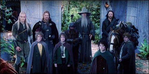 La communauté de l'anneau regroupe 9 membres (Frodon, Sam, Merry, Pippin, Gandalf, Aragorn, Legolas, Boromir et... ), lequel manque à cette liste ?