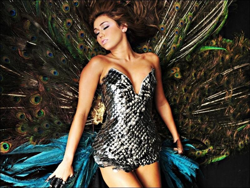Quelle est la couleur préférée de Miley Cyrus ?