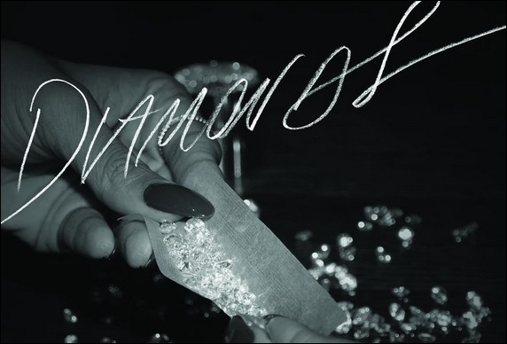 Complétez les paroles de Diamonds  de Rihanna :  You're shooting star I see...