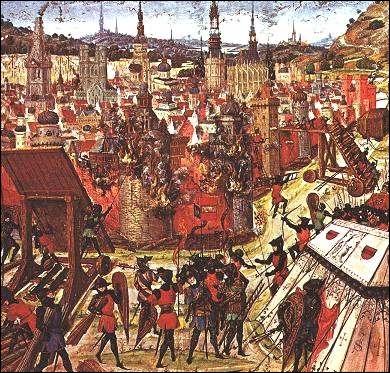 Quand a lieu la (1ère) prise de Jérusalem par les croisés ?