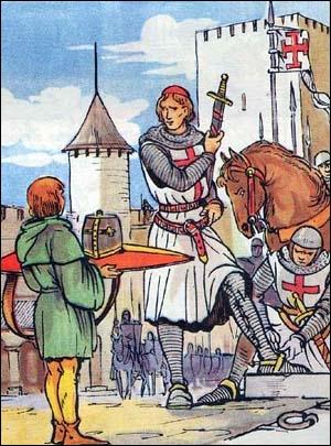 Retrouvez les affirmations justes concernant l'équipement des chevaliers.