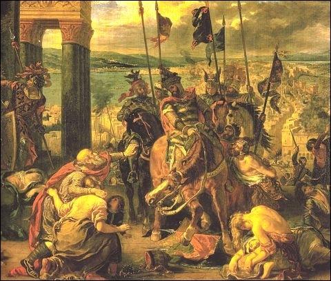 Qui pille Constantinople en 1204 pendant la 4ème croisade ?