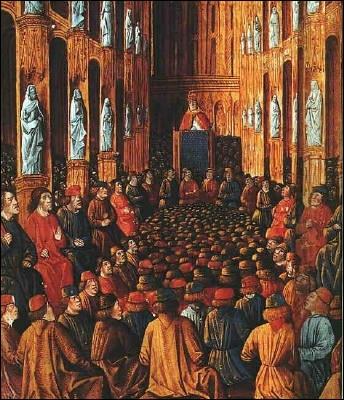 Les premiers croisés partent suite à la prédication du pape Urbain II (1095) : où est-il lorsqu'il lance cet appelle à la croisade ?