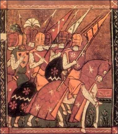 Retrouvez les personnages qui ont dirigé la croisade des barons, à partir de 1096.