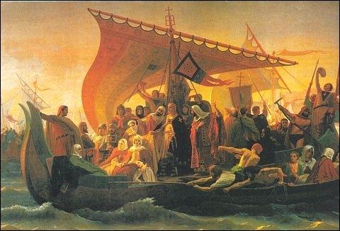 Comment les croisés parcourent-ils les 5000 km qui les mènent en Terre Sainte en passant par Constantinople ?