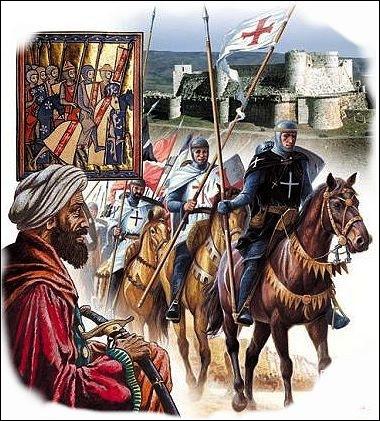 Pourquoi les croisés partent-ils généralement en groupe, encadrés par des chefs politiques ou religieux ? (plusieurs bonnes réponses)