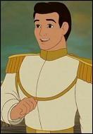 C'est le Prince Charmant de Disney qui va tomber amoureux de Cendrillon. Quel est son prénom ?