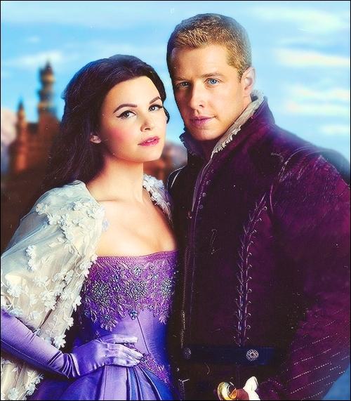 Blanche-Neige et le Prince Charmant, James (et David dans le monde réel) sont les héros d'une série TV qui reprend l'ensemble des contes de fées dans ses intrigues. Quel est le titre de la série ?