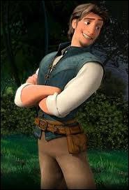 Voici une illustration de Raiponce, une histoire adaptée par Disney d'un conte des frères Grimm. Quel est le prénom du Prince amoureux de Raiponce ?