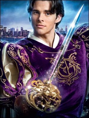 C'est l'acteur James Marsden qui joue fort bien, avec humour et fougue, le Prince Charmant Edward qui poursuit sa Princesse Giselle. Quel est ce délicieux film ?