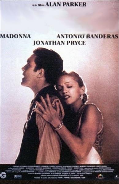 Comédie musicale américaine d'Alan Parker (1996) avec ne éblouissante Madonna et Antonio Banderas ... .