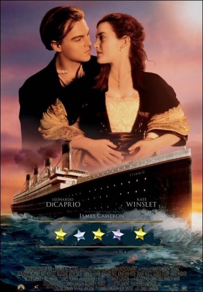 Somptueuse tragédie romanesque réalisée par James Cameron en 1997 avec Kate Winslet, Léonardo DiCaprio, Billy Zane ... .
