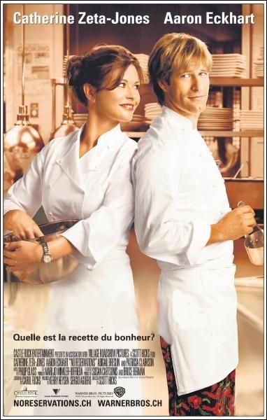 Comédie romantique américaine réalisée par Scott Hicks en 2007 avec Catherine Zeta-Jones, Aaron Eckhart, Abigail Breslin ... .