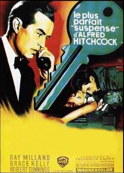 Polar haletant du Maître du suspens Alfred Hitchcock (1954) avec une sublime Grace Kelly , Ray Milland, Robert Cumming ... .