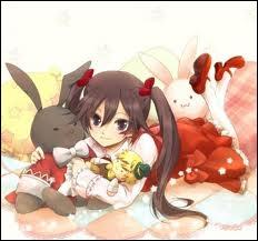 D'où vient le lapin d'Alice, se prénommant Oz ?