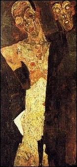 Lequel de ces peintres a réalisé la toile  Le prophète , double autoportrait qui traduit le dédoublement de la personnalité ?