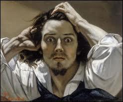 Enclin à une grande solitude et à la mélancolie, qui peint  Le désespéré  en 1845 ?