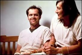 Quel est ce film traitant de la folie avec Jack Nicholson ?