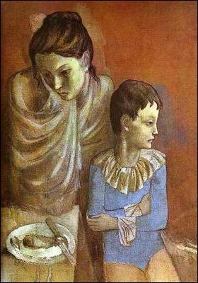 Qui a peint  Mère et enfant  en 1905 ?