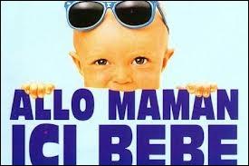 L'année suivante, comment participe-t-il au film  Allo maman, ici bébé  ?