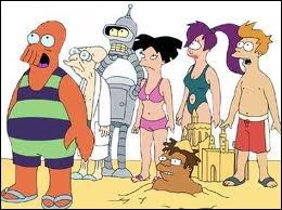 Quel autre dessin animé doit-on au créateur de  Futurama  (photo) ?