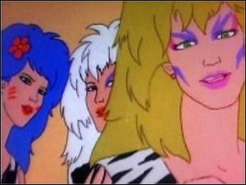 Quel est le nom de ce groupe de chanteuses issu du dessin animé  Jem et les Hologrammes  ?