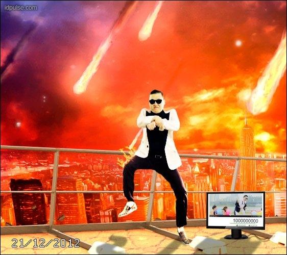La chanson de Psy  Gangnam style  est chantée en...