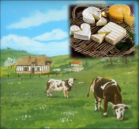 Lequel de ces fromage n'est pas une appellation d'origine normande ?