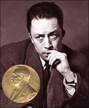 Nous célébrons cette année le centenaire de la naissance de l'écrivain Albert Camus. En quelle année lui a-t-on décerné le prix Nobel de littérature ?