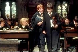 A quel cours Ron et Harry sont-ils en retard ?