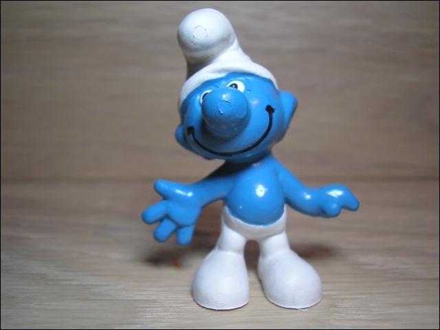 En quelle année est sortie la première figurine des Schtroumpfs ?
