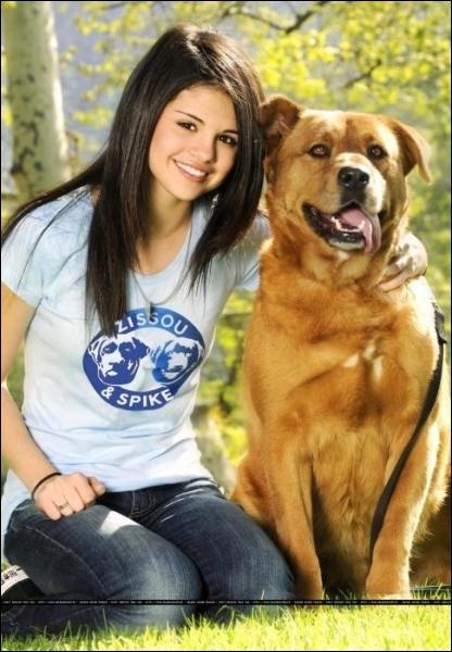 Selena a 6 chiens.