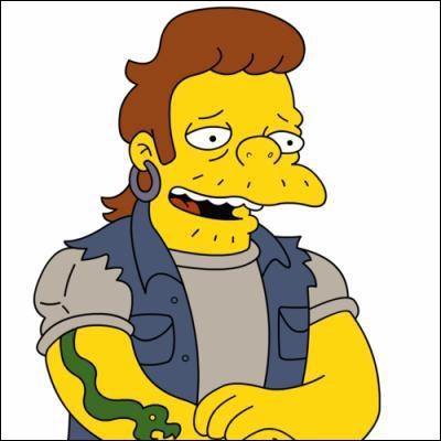 Que faisait-il avant de devenir la crapule de Springfield ?