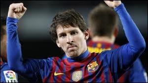 Combien de buts Lionel Messi a-t-il marqué en 2012 ?