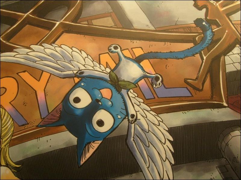 Et, quel est le nom de l'Exeed (chat volant) qui suit le personnage principal ?