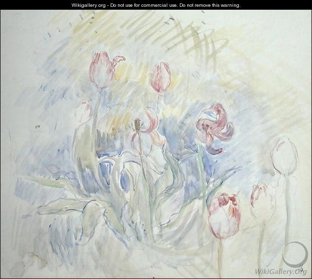 Qui a peint Tulipes en 1890 ?