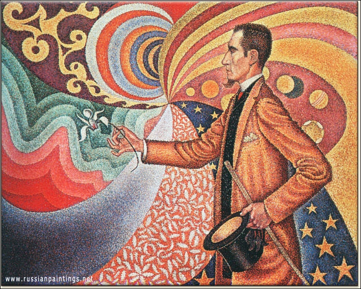 Qui a peint Félix Fénéon en 1890 ?