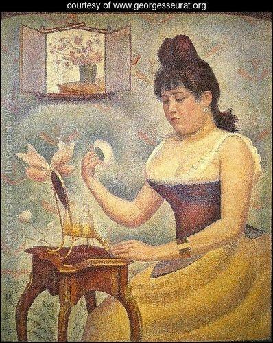 Qui a peint Jeune femme se poudrant ?