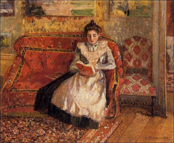 Qui a peint Jeanne lisant ?