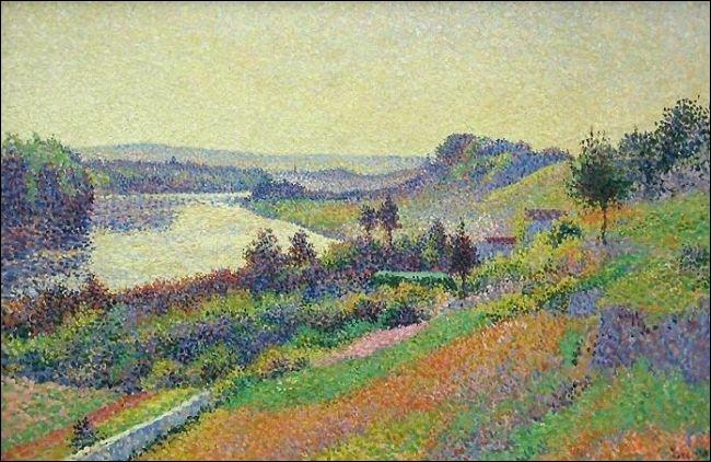 Qui a peint La Seine à Herblay ?